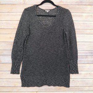 3/$30 J. Jill Women's Size M Black Sweater